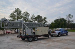 Our First Mobile Tower Delivered to the USA Navy.