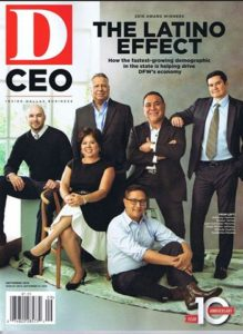 Evelyn Torres, D CEO Magazine September Edition