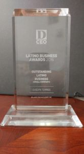 D CEO Latino Business Award 2016